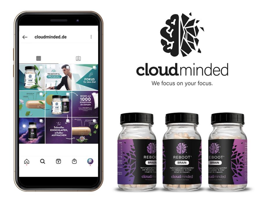 Cloud Minded Design Produktfotografie Kunstlicht Studio Sabine Fischer Grafikdesign