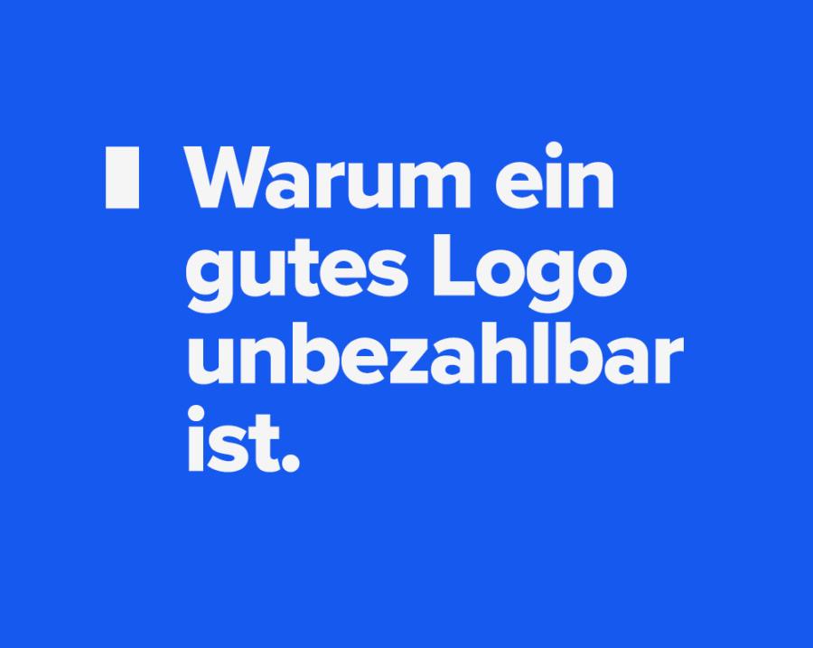 gutes Logo unbezahlbar Sabine Fischer Artikel Logodesign