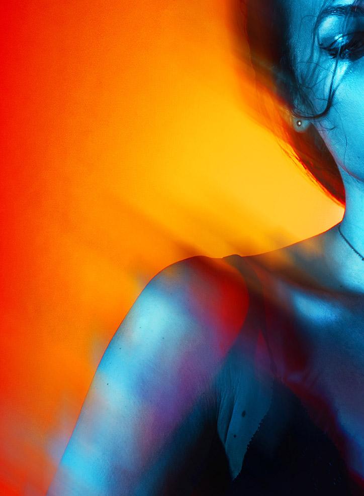 Verlauf Komplementär Farben
